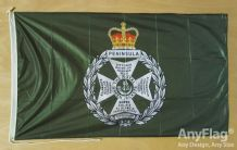 ROYAL GREEN JACKETS  ANYFLAG RANGE - VARIOUS SIZES